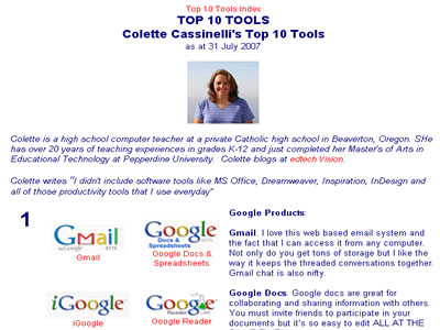 Top Ten Tools