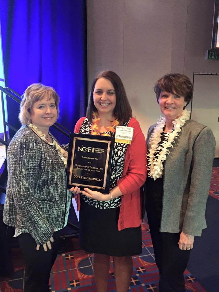 2015 NCCE Technology Educator of the Year